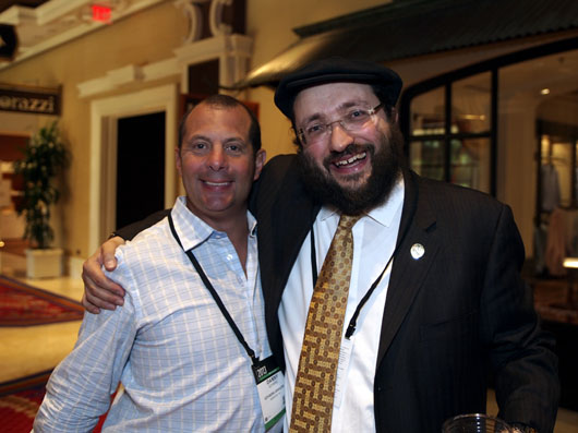Samuel Friedmann with Danny Govberg of Govberg Jewelers